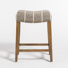 Saddle Counter Stool - Graphite