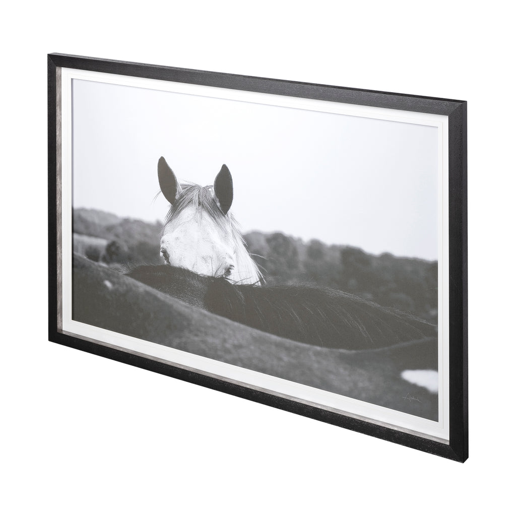 Flirt - Framed Art