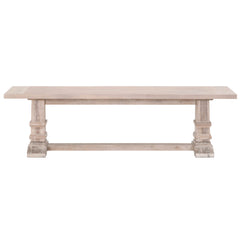 Hudson Bench - Natural Grey