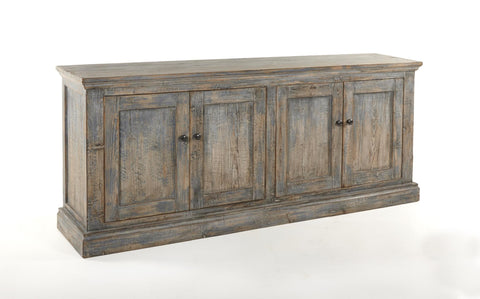 Mira 4-Door Sideboard - Antique Blue