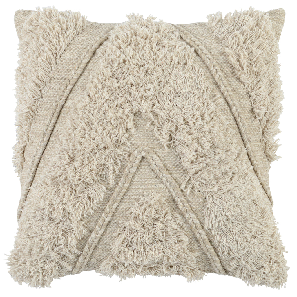22x22 Sahara Ivory Pillow