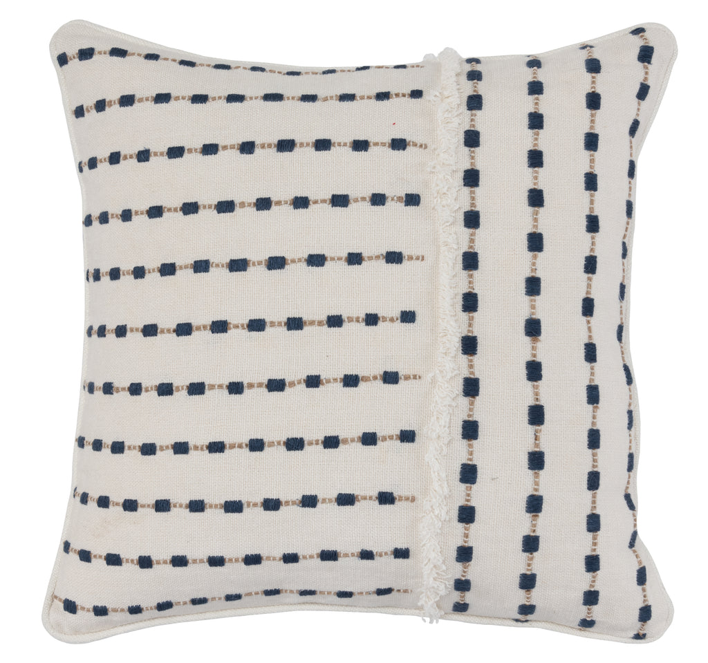 20x20 Katia Navy Pillow