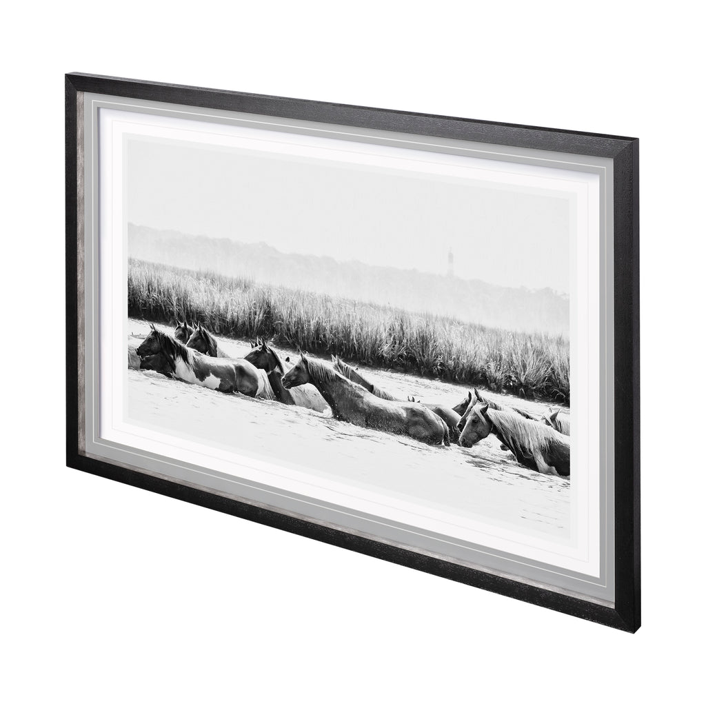 Waterhorses Framed Art