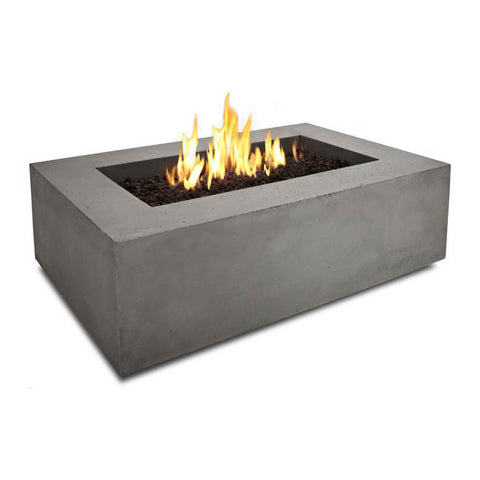 Baltic Rectangular Propane Table - Grey