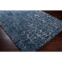 Banshee Area Rug - Dark Blue