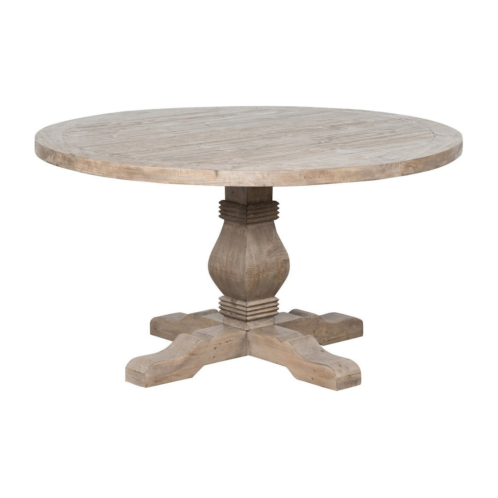"Caleb 55"" Pedestal Table"