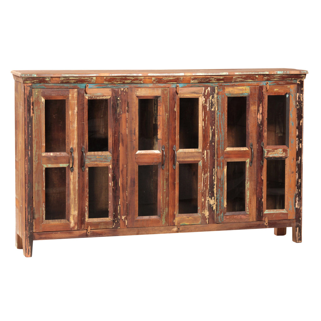 Nantucket 6-Glass Door Sideboard