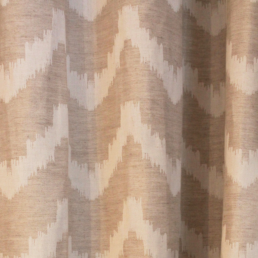 Chevron Natural Drapery Panel