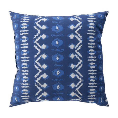 20x20 Indira Blue Outdoor Pillow