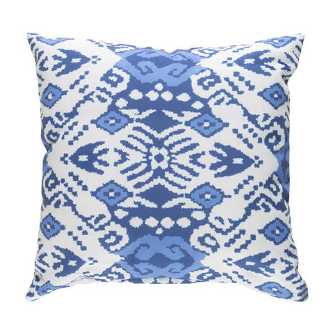 18x18 Indira Ikat Outdoor Pillow