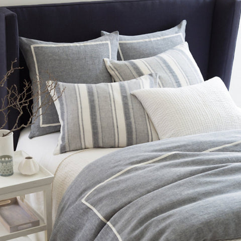 Keaton Bedding Collection - Indigo