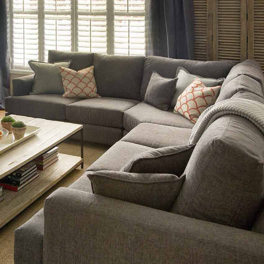 Napa Sectional Harvest Furniture