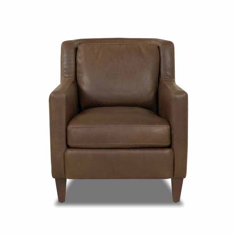 Simmons Leather Chair