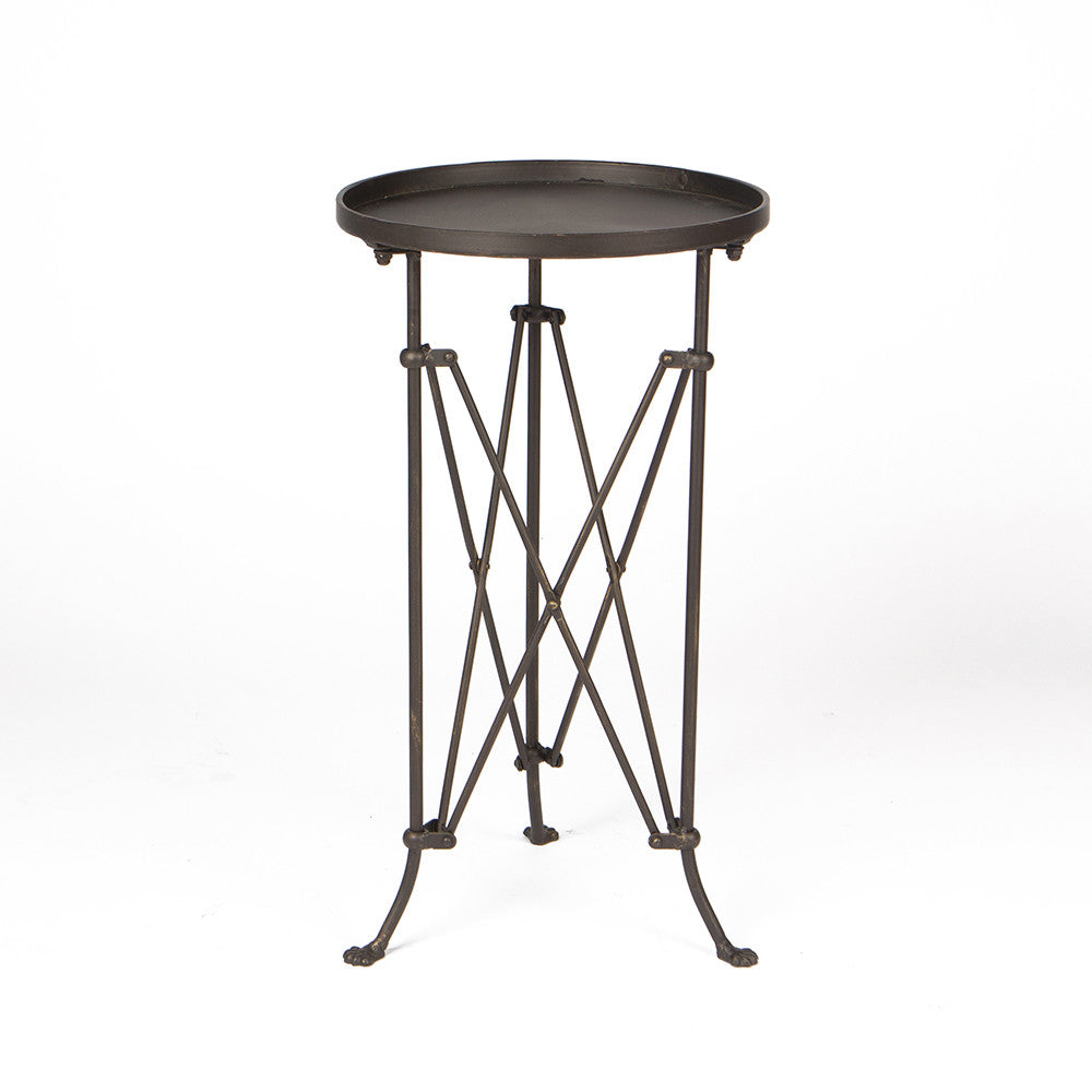 "15"" Round Metal Table"