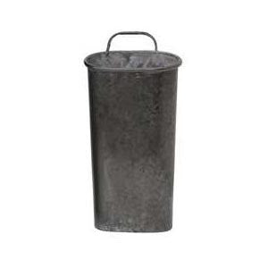 Small Tin Wall Bucket