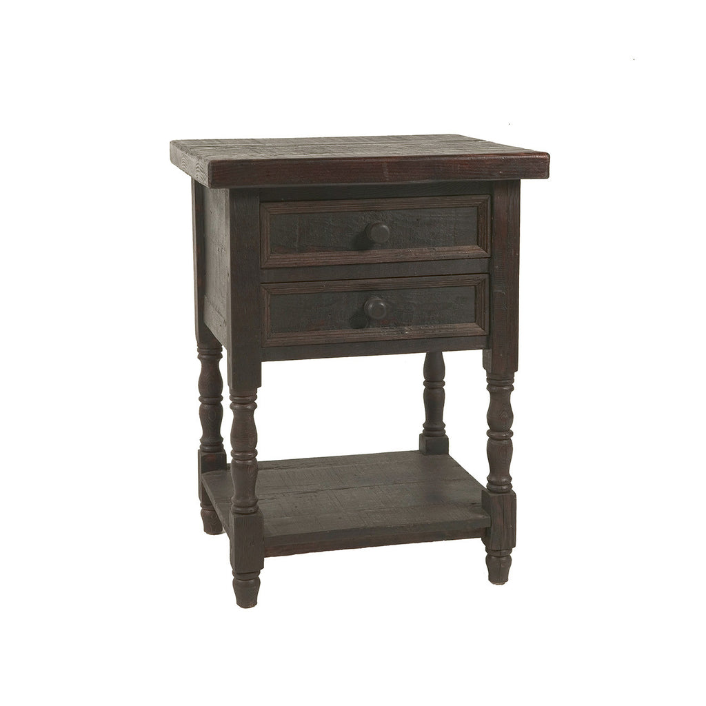 Tahoe 2-Drawer Nightstand - Dark