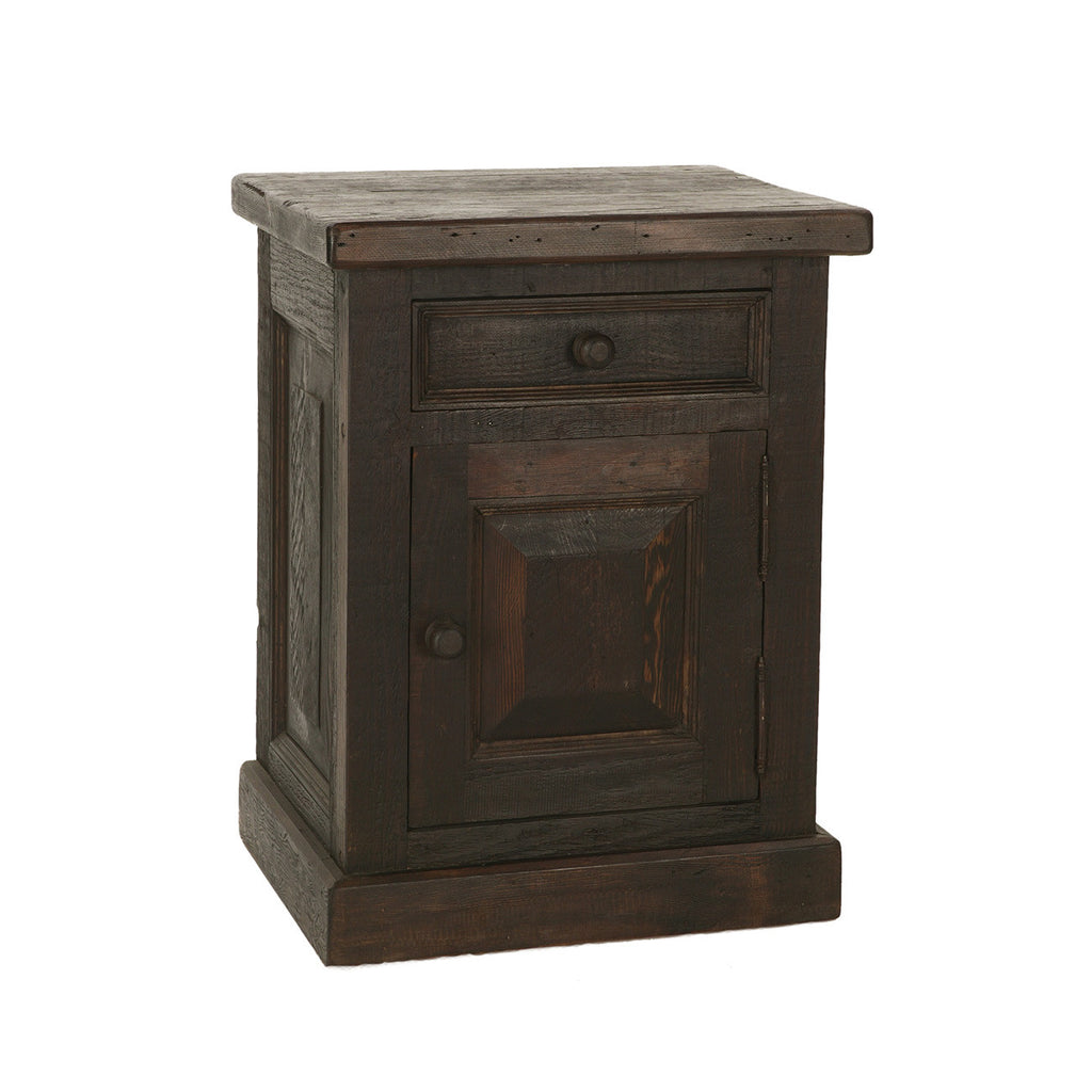 Yuba 1-Drawer Nightstand Dark