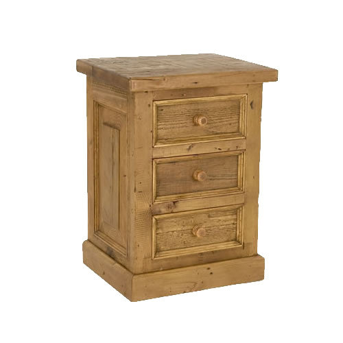 Yuba 3-Drawer Nightstand