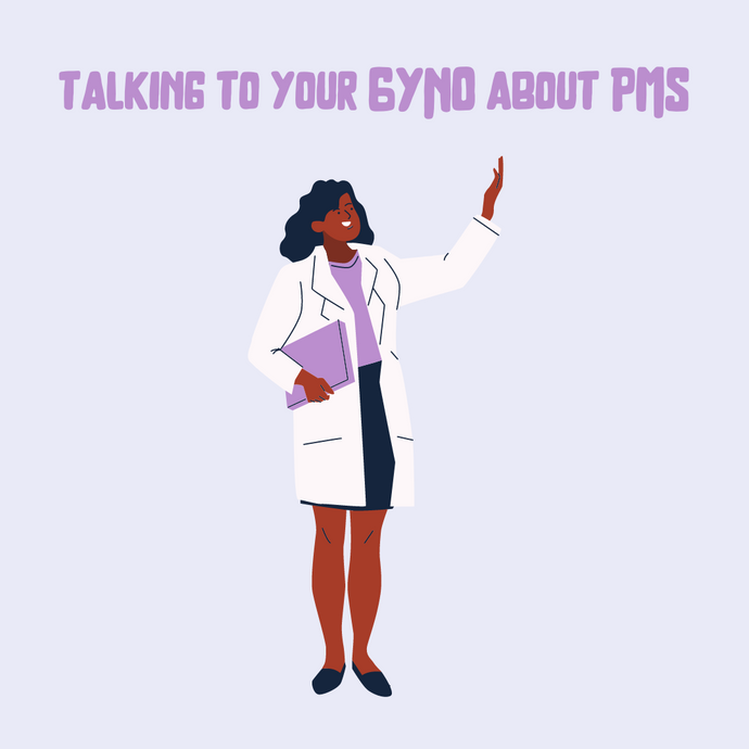 Checklist for talking to your GYNO about PMS