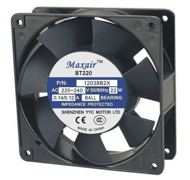 Lincoln Control Cooling Axial Fan - 230v | Part # 369378