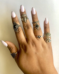 Vintage Stackable Rings Luxoba