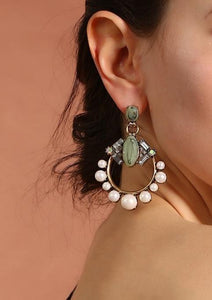 Geometric Statement Earring - Luxoba