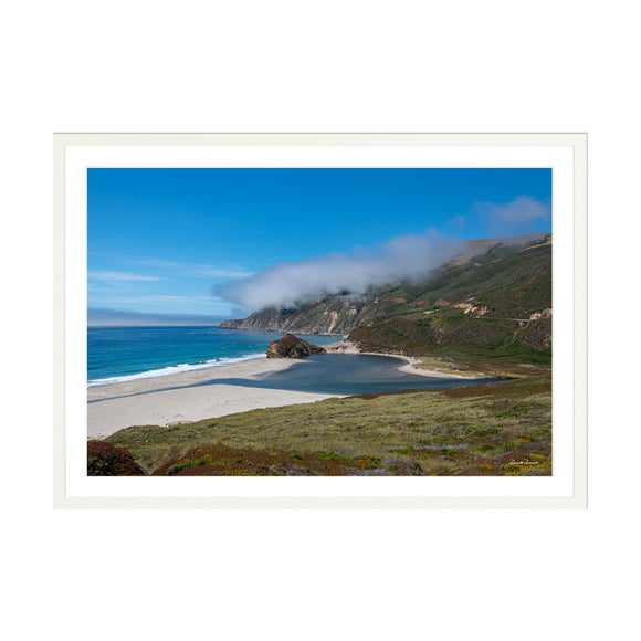Clouds over Big Sur 30x20