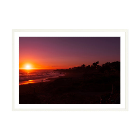 Sunset at Moonstone Beach 30x20