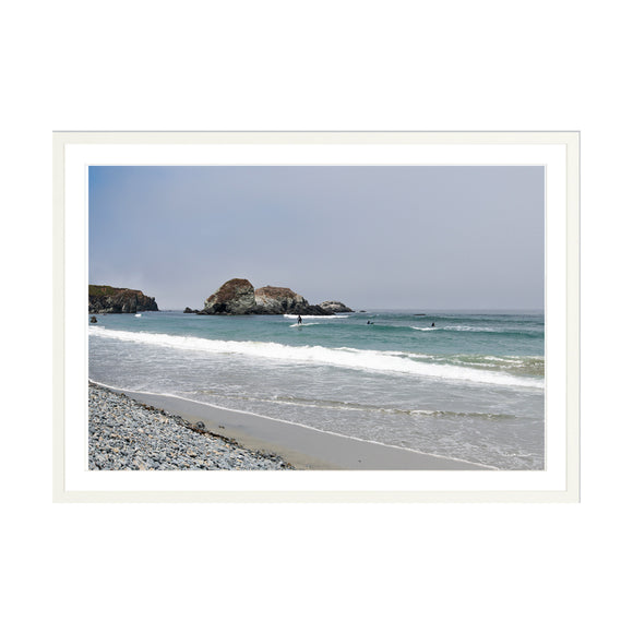 Surfers at Sand Dollar Beach 30x20