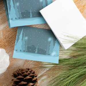 Winter Landscape Note Card Set (Box of 8 Cards)