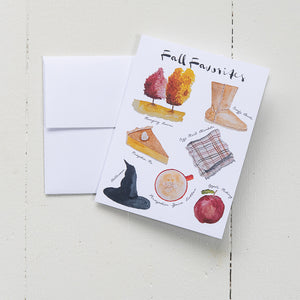 Fall Favorites Note Card Set (Box of 8)