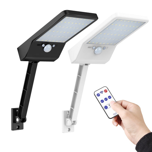 CleanLight™ - Refletor Solar 48 LEDs, com Sensor de Movimento