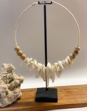 cuttlefish Necklace with stand
