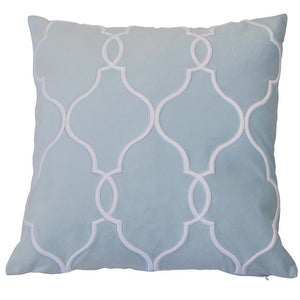 baby blue cushion cover