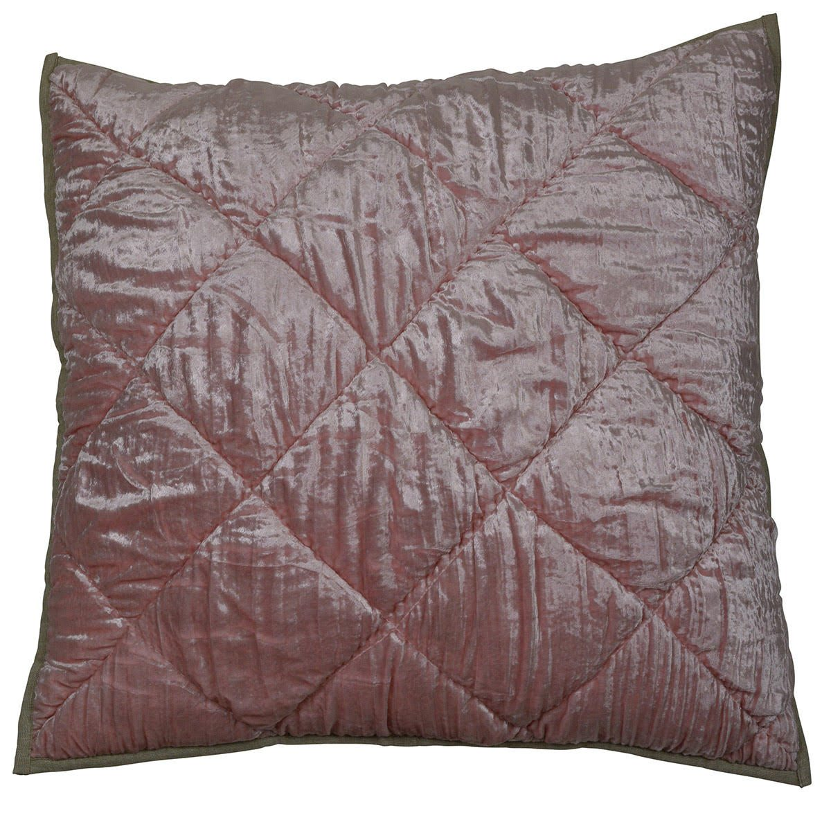 polished pink cushion cover