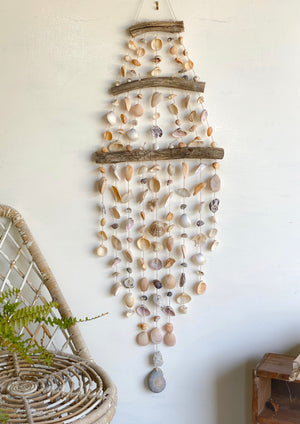 extra large shell wall hanging
