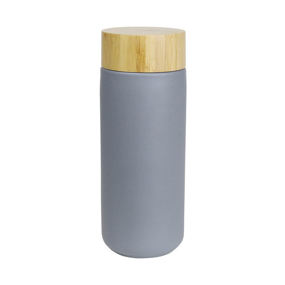 matte grey drink bottle