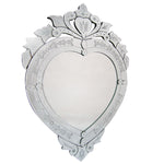 Venetian Heart Shaped Mirror