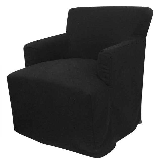 Nantucket Armchair Black with cover