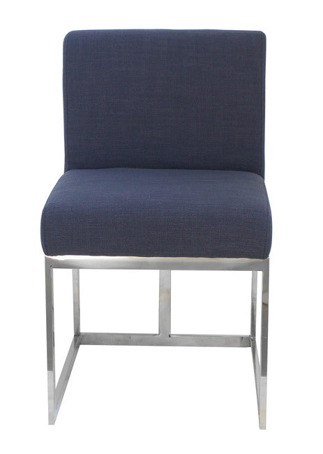 Jaxson Dining Chair Navy Blue