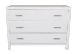 Catalina White Chest of Drawers