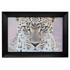 Leopard Portrait Wall Art 110x4x80cmh