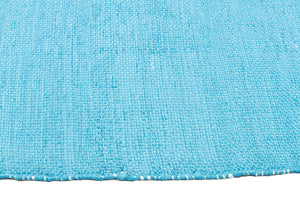 Coastal Indoor Outdoor 4 Turq Rug