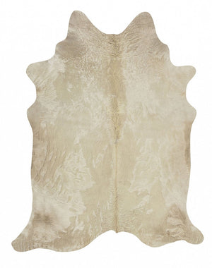 Exquisite Natural Cow Hide Champagne