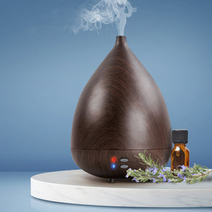 Aroma Diffuser Air Humidifier Dark Wood 300ml