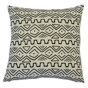 zulu black and white cushion cover