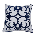lennox navy cushion cover