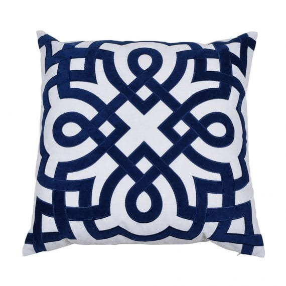 Byron Navy cushion cover