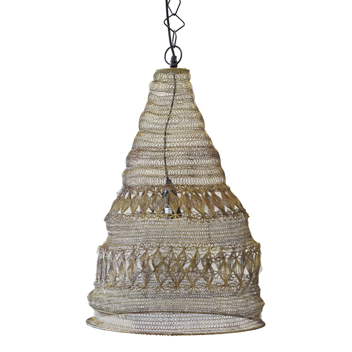 boho gold pendant lighting