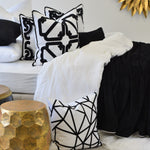 Bronte Black Rectangle cushion display